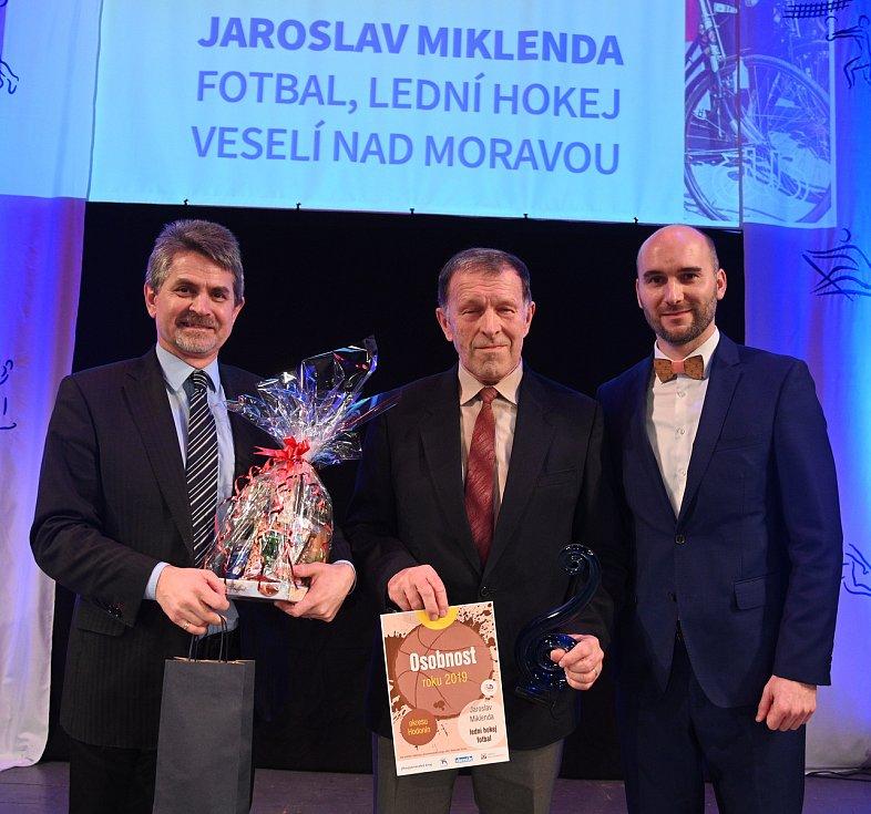 Slavnostní vyhlášení ankety Sportovec okresu Hodonín za rok 2019 se po třech letech uskutečnilo ve Veselí nad Moravou. Foto: ČUS Hodonín