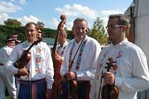 Nedělní program Národopisného festivalu Kyjovského Dolňácka.