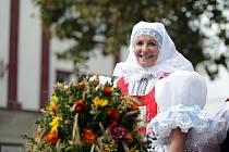 Kyjovské dožínky jsou tradiční folklorní akcí. Průvod v tradičních krojích prošel městem s několika zastávkami za doprovodu dechové hudby.