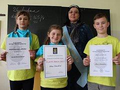 Alena Kocourková ze základní a mateřské školy v Domaníně se stala Jihomoravskou Ámoskou.