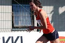 Hodonínnká závodnice Sylva Škabrahová obdržela ocenění pro Nejlepšího atleta jižní Moravy pro rok 2012.