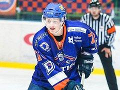 Ani trefa útočníka Dominika Matuly hodonínským hokejistům k výhře nad Šumperkem nestačila. Drtiči doma podlehli Drakům 1:5.