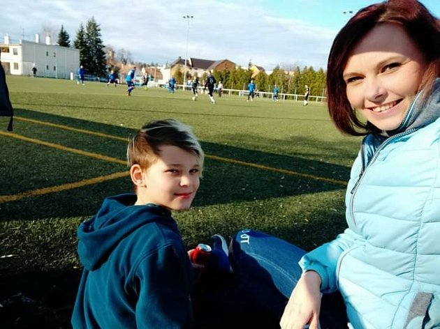 Fotbalu se věnuje také mladší syn Alexandr. Druhý syn Tobiáš a dcera Veronika mají jiné zájmy.