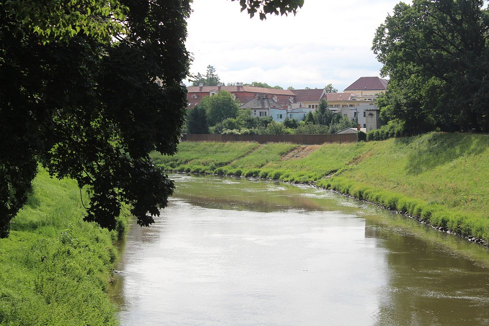 Návštěva zámeckého parku ve Veselí nad Moravou v polovině července 2021.
