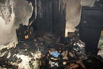 Středeční večerní požár ve Veselí