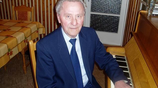 Hudebník a skladatel František Kotásek.