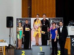 První místo obsadili Adam Krůza a Hana Sigmundová, druzí byli Petr Kolářík a Amálie Rumpíková spolu s trenéry Rudolfem Jelínkem a Renatou Mrázovou.