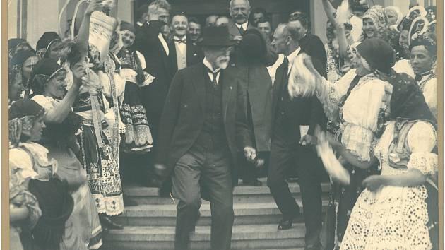 Blíží se 171. výročí narození prvního československého prezidenta T. G. Masaryka. FOTO: Archiv Masarykova muzea v Hodoníně.