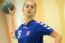 Mladá veselská házenkářka Jana Šustková pomohla českým dorostenkám k postupu na mistrovství Evropy do Makedonie.