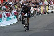 Kyjovský odchovanec, cyklista Jan Bárta.