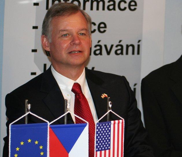 Americký velvyslanec Richard Graber