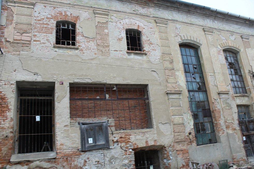 Komplex bývalého pivovaru v Kyjově.