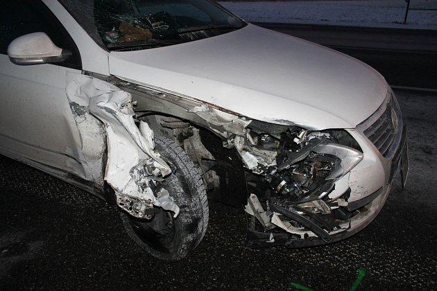 Nehoda na křižovatce smrti uhodonínského Pánova.