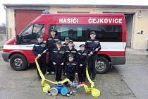 Dobrovolní hasiči Čejkovice.