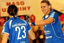 Veselská spojka Helena Štěrbová má před sebou poslední tři zápasy v dresu Veselí nad Moravou. V létě odchází reprezentační kanonýrka do Francie.