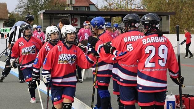 Turnaj elitních ženských hokejbalových týmů České republiky poprvé zavítá do Kyjova.