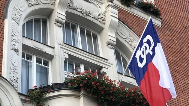 Dne 8. října si jako památný den sokolstva připomněli v Hodoníně vyvěšením vlajky.