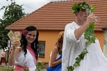 Ve slováckém městečku pod Bílou věží se totiž uskutečnilo již třinácté Strážnické vinobraní.