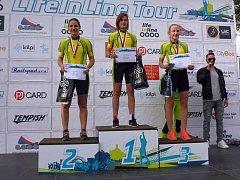 Veselské in-line bruslařky na národním šampionátu v půlmaratonu v kategorii kadetek obsadily stupně vítězů.