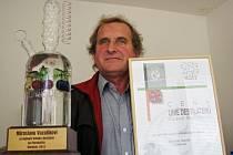 Ocenění z Flory Olomouc bere Miroslav Vaculík jako zatím největší pro své pálenky.