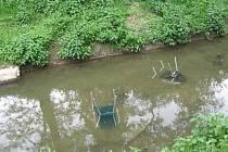 Netradiční výlov židliček v Kyjově