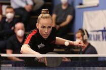 Talentovaná juniorka Linda Záděrová dostala letos šanci v extraligovém týmu Hodonína.