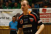 Devatenáctiletý útočník itelligence Bulldogs Brno Václav Černoch (na snímku) byl pořadateli nedělního utkání s Otrokovicemi vyhlášen nejlepším domácím hráčem.