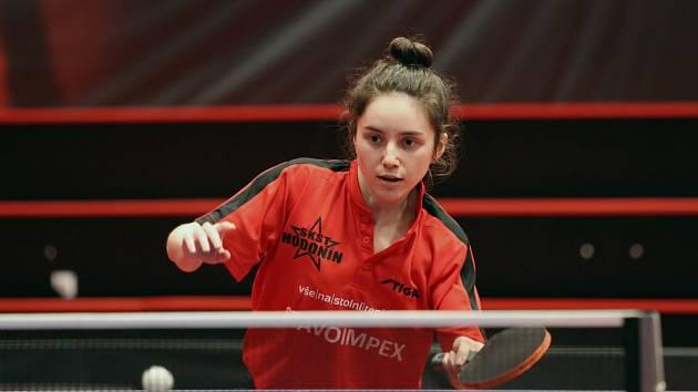 Solomiya Brateyková vybojovala v prvním semifinále důležitý úvodní bod.