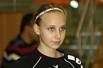 Mladá hodonínská házenkářka Valerie Smetková v letošním soutěžním ročníku starších žákyň a mladších dorostenek dohromady nastřílela 240 gólů.
