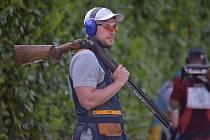 Brokový střelec Jakub Tomeček z Komety Brno.