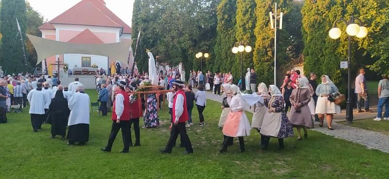 Mariánská pouť v Žarošicích.