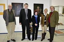 Arcivévodové (po krajích) si prohlédli aktuální výstavu Masarykova muzea, která se věnuje jejich předkovi.
