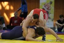 Hodonínským zápasníkům se na mistrovství České republiky v zápase řecko-římském náramně dařilo. Štěpán Antoš předvedl přípravný chvat a i díky povedenému zvedu získal stříbro.