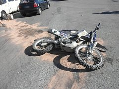 Ve středu boural mladý motorkář ve Velké nad Veličkou.