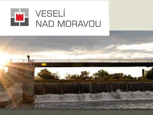 Logo Veselí nad Moravou na oficiálních webových stránkách města.
