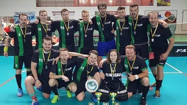 Florbalisté Dubňan získali na letním turnaji stříbro.