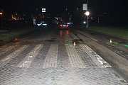 Policisté hledají možné svědky nehody, která se stala v úterý v 18.33 v Blatnické ulici ve Veselí nad Moravou..
