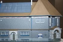 K výročí postavení budovy galerie si lidé mohou koupit i její papírový model