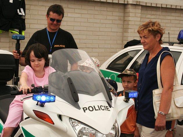 Den policie na Okresním ředitelství Policie ČR v Hodoníně