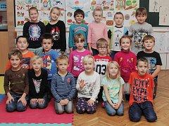 Žáci 1.A ze Základní a Mateřské školy ve Svatobořicích-Mistříně.