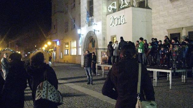 Takto Kyjovští vítali před radnicí rok 2016. Připomenou si v něm hned několik výročí spojených s městem.