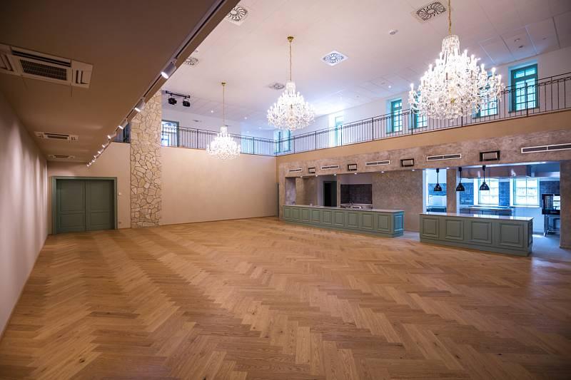 Nové kulturní centrum vinařství Spielberg v Archlebově.