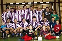 Mezi hlavní favority Kyjovské halové ligy patří loňský vítěz a pořádající tým Kapacit.