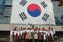 Strážnický soubor Danaj se zúčastnil festivalu v Jižní Koreji.