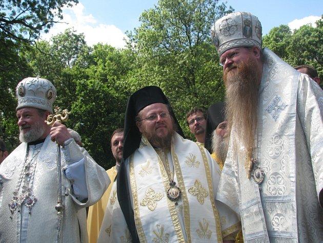 Slavnost Bulharů v Mikulčicích a odhalení sousoší sv. Cyrila a Metoděje
