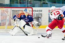 Mladý brankář Ondřej Haloda pomohl hokejistům Hodonína k výhře v Kopřivnici i triumfu nad silnou a ambiciózní Porubou.