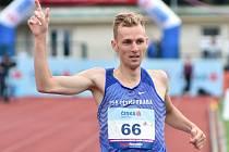 Filip Sasínek vytvořil nový rekord českého šampionátu na trati 1500 metrů.
