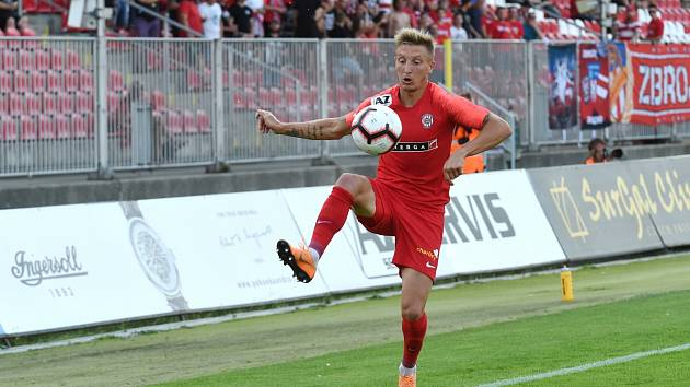 Ondřej Sukup (na snímku ještě v dresu brněnské Zbrojovky) je novou posilou hodonínských fotbalistů.