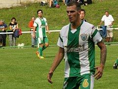 Obránce Bzence Michal Petrucha byl v sobotním zápase vyloučen a čeká ho disciplinární trest. Slovan v Uherském Brodě prohrál 2:4.