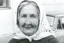Zpěvačku lidových písní Marii Procházkovou ze Strážnice objevil profesor Vladimír Úlehla.
